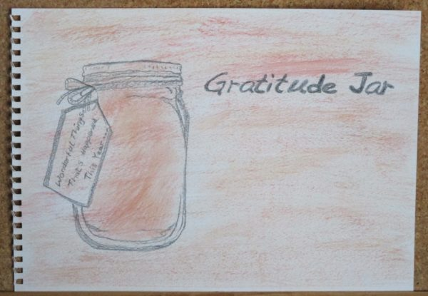 Gratitude Jar by My art unfolding