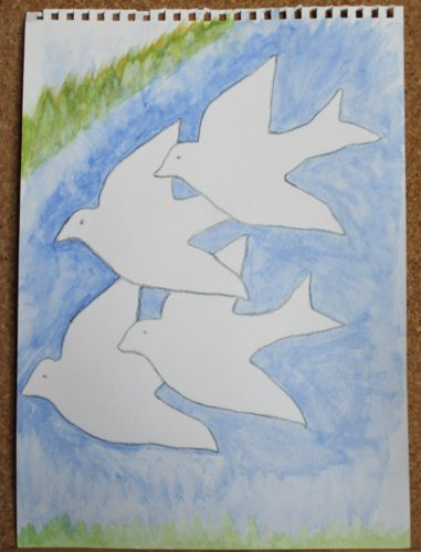 Birds In Flight by My art unfolding