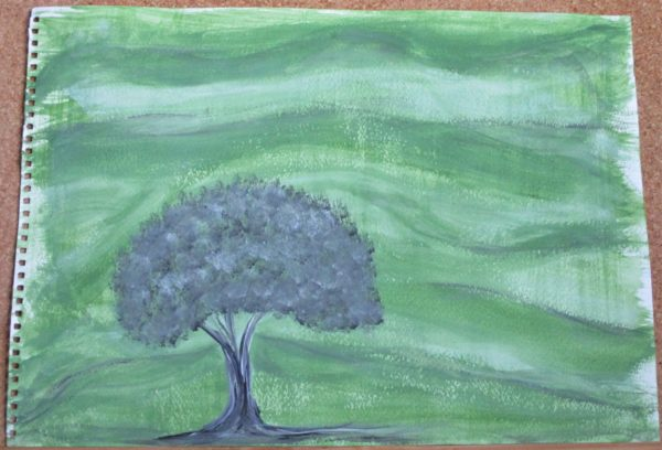 Grey Tree by My art unfolding