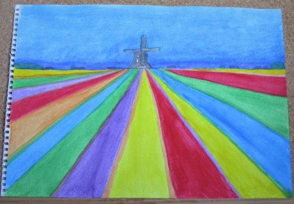Windmill by My art unfolding