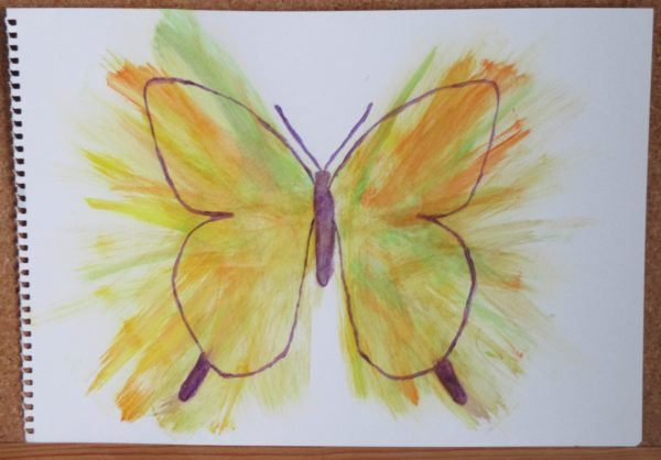 Butterfly 1 by My art unfolding