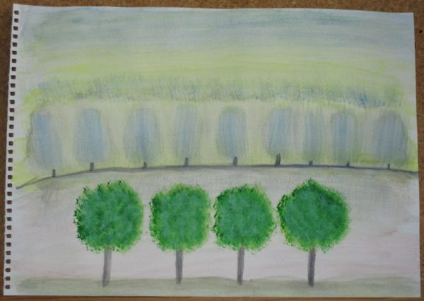 Trees by My art unfolding