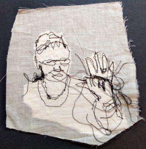 """""""Grasp"""" – Parkinsons Dance – Stitch by Kat Pugh"""