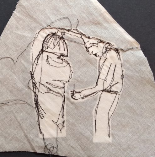 """Spin"" – Parkinsons Dance – Stitch by Kat Pugh"