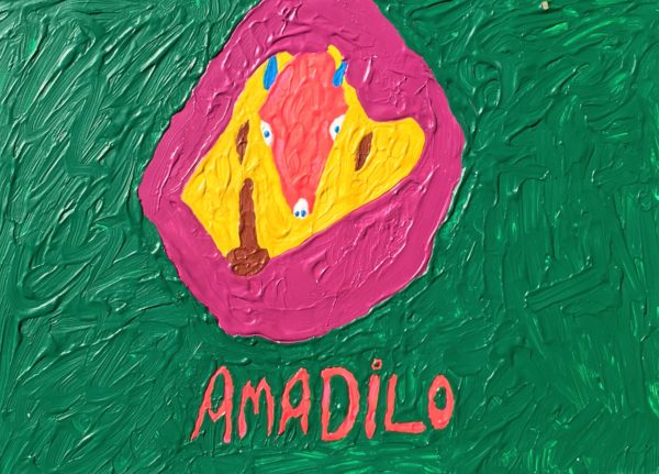 My Amadilo by Glitter Landscape and Trees