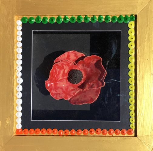 Poppy Box II by Poppy Box with Aborgin Type Tradition