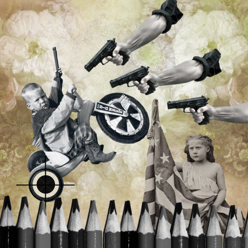 Our New Civil War by Regina Lafay  Bellamy Collage