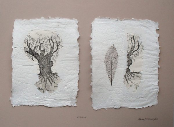 Tree, Leaf and Paper (Remake) by invasion.jpg