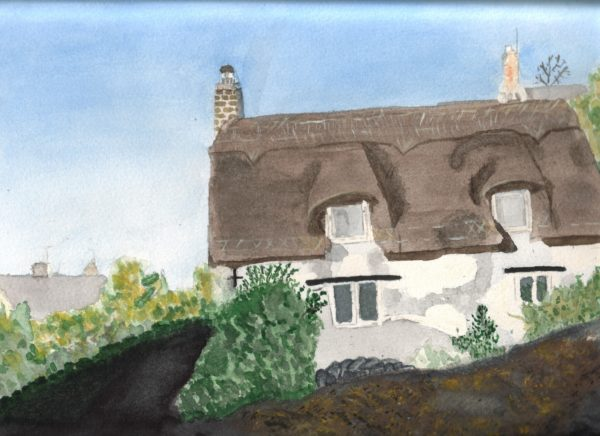 Thatched Cottage by Lindas fox-cub