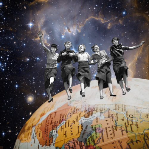 Who Run the World by Regina Lafay  Bellamy Collage