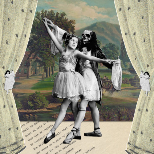 Dancing with Dance by Regina Lafay  Bellamy Collage