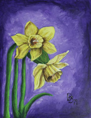 Daffodils by Forest