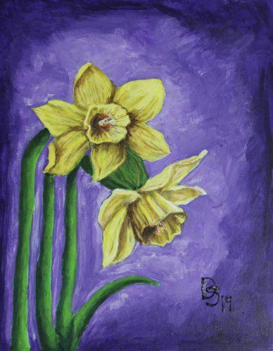 Daffodils by Dana Smith