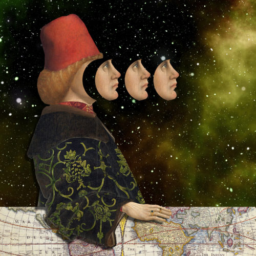 Look to the Future by Regina Lafay  Bellamy Collage