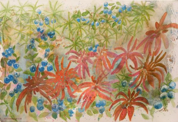 Peat Impressions 2 by Marisa Rehana Mann