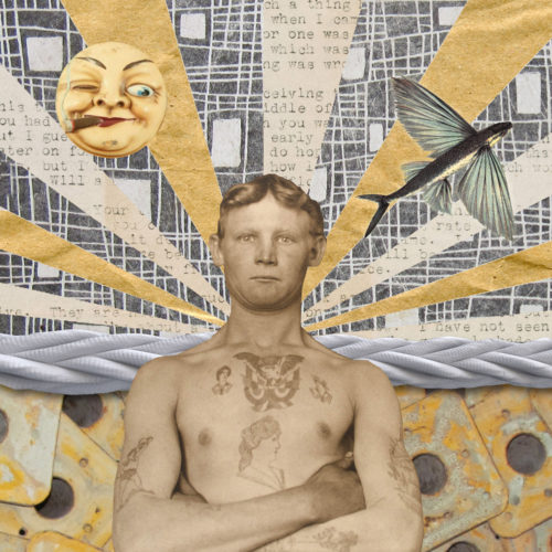 Sailor by Regina Lafay  Bellamy Collage