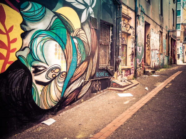street art street photography by Music Man