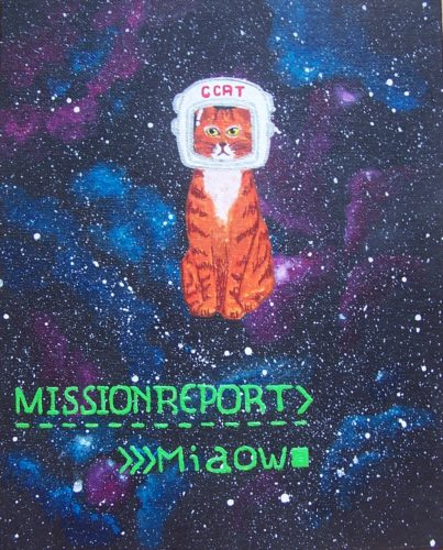 Space Kitty by Memento Mori
