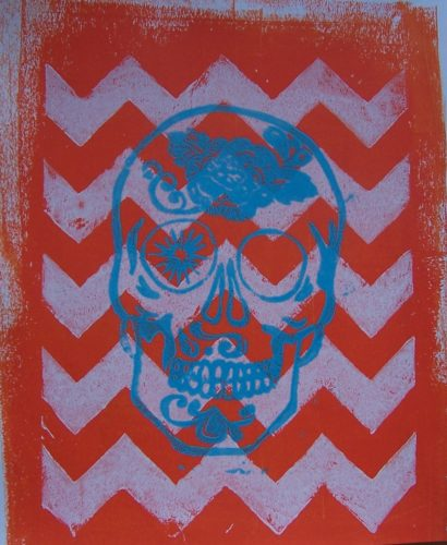 Colourful Calavera by War Paint