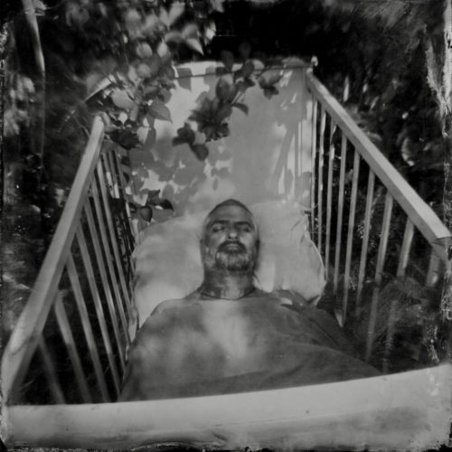 The Return Home 1 (Waking from a coma) Made with homemade wetplate camera by Drew Fox
