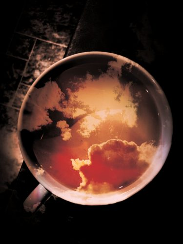 Clouds in my coffee by Apple