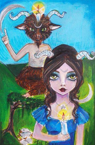 The devil by suzi