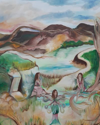 A Dream Scape, I suppose by Anna-Maria Amato