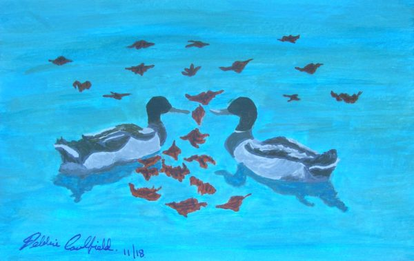 Autumn Ducks by Deborah Caulfield