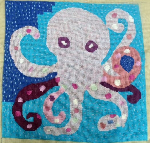 colour octopus by Butterfly