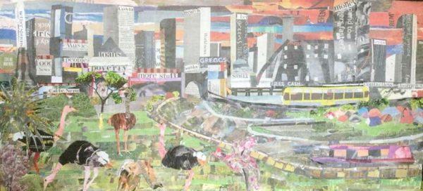 City Life by Phil Stewart artivist