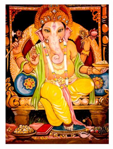 Ganesh by Lori Kozak