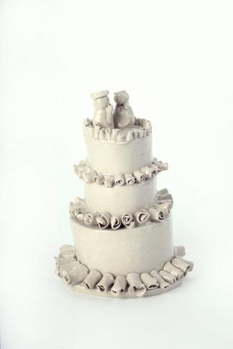 Kylie and Jason's Wedding Cake by Horace Lindezey