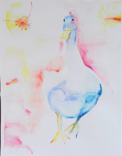 Loose Goose by Whistling Ear Art