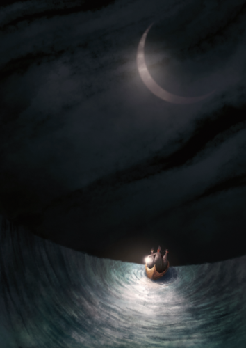 Moonlit Voyage.png by Rob Bloomfield