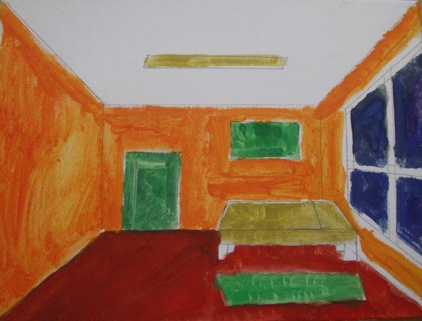 My Flat by Gary Fleming