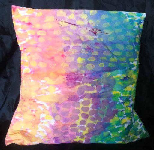 Painted-Fabric-Cushion.jpg by Chrissie Buckthorpe
