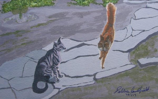 Summer Cats by Deborah Caulfield