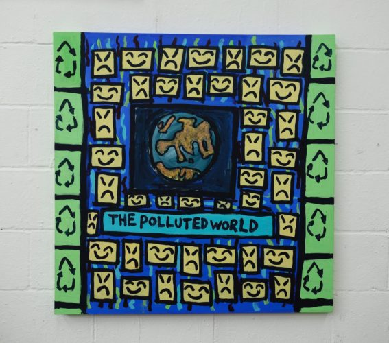 The Polluted World by Thompson Hall