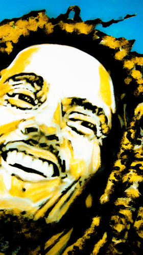 Bob Marley by Lori Kozak