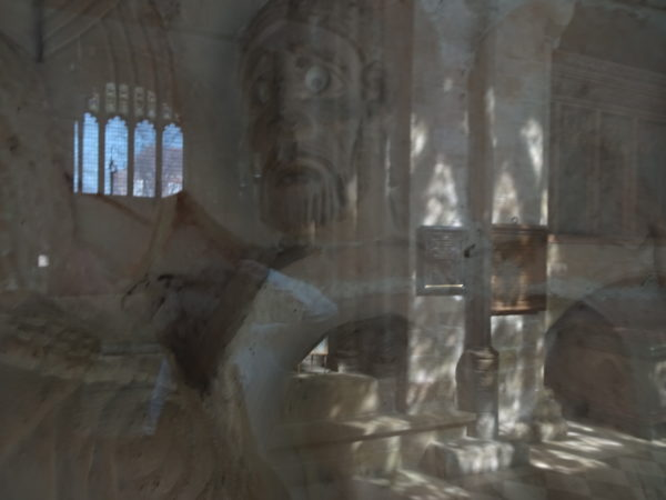 the raising of Lazarus perspex reflection by 30-4-19 The Square Midhurst