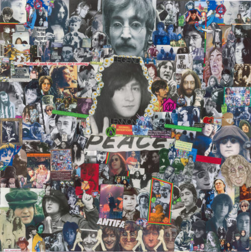 John and Yoko (2) by Mark Ian Wise