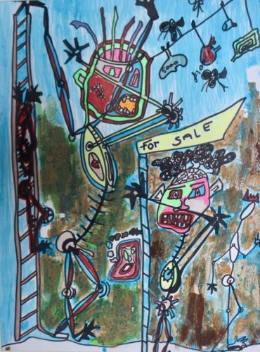 SOLD OUT – from the community care series by Alex Horswood