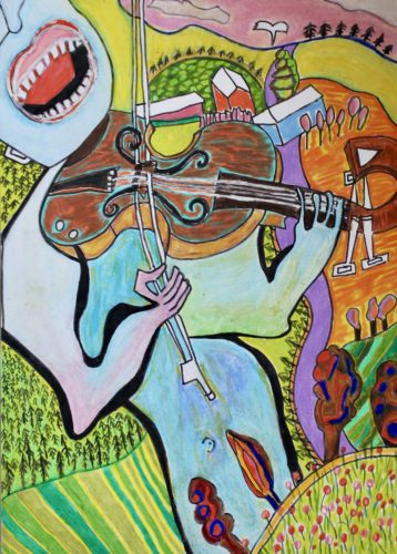 On the fiddle by Alex Horswood