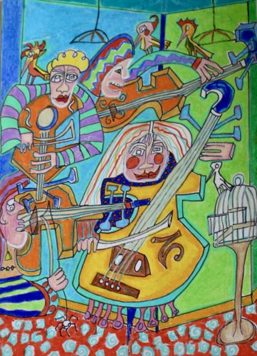 Free Range Fiddle by Alex Horswood