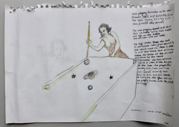 Snooker with the Planets by Mark Hibbert