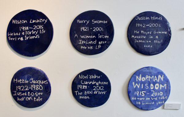 The Blue Plaques by Horace Lindezey