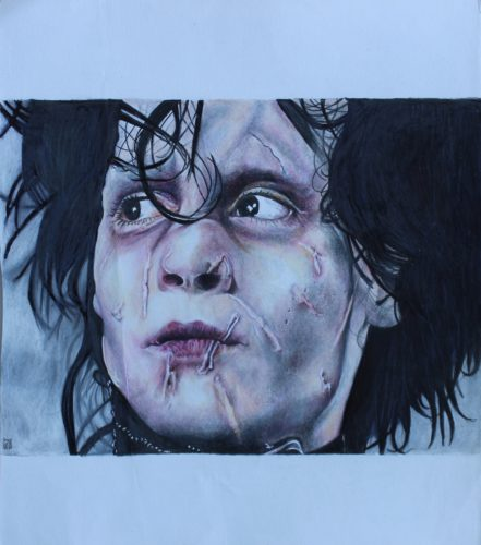 Edward Scissorhands by Sarah Jones