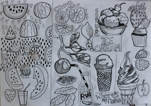Food Sketching 5.jpeg by Chocced on Plastic