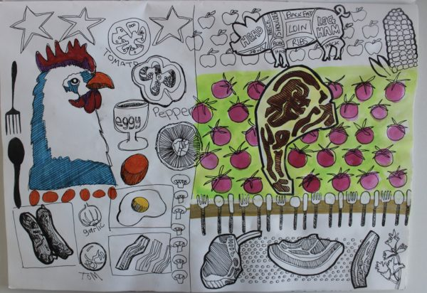 Food Sketching 2.jpeg by Chocced on Plastic