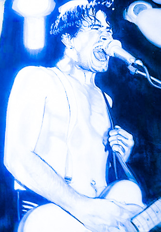 Jeff Buckley by Lori Kozak